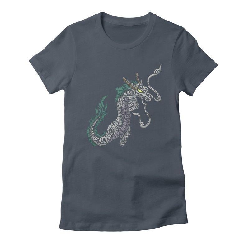 PEACEFUL SPIRIT Women's T-Shirt by greenlambart's Artist Shop
