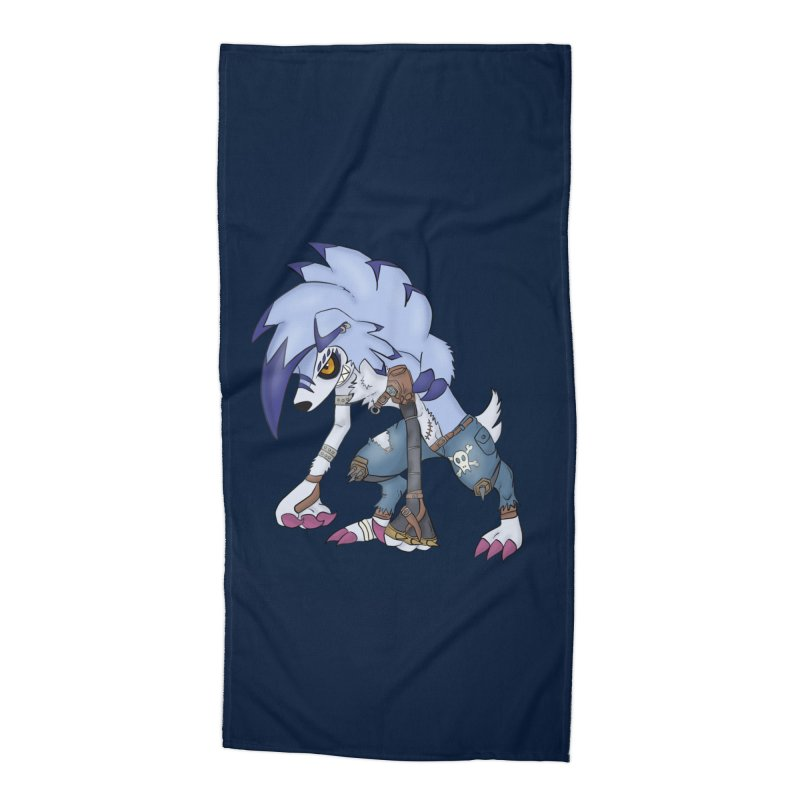 WERELYCANROC Accessories Beach Towel by greenlambart's Artist Shop