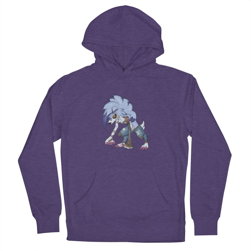 WERELYCANROC Women's French Terry Pullover Hoody by greenlambart's Artist Shop