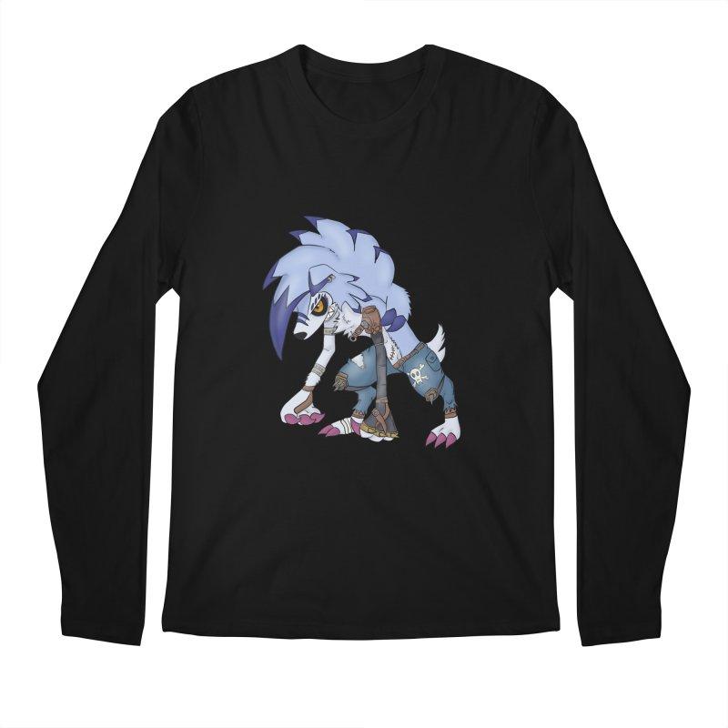 WERELYCANROC Men's Regular Longsleeve T-Shirt by greenlambart's Artist Shop