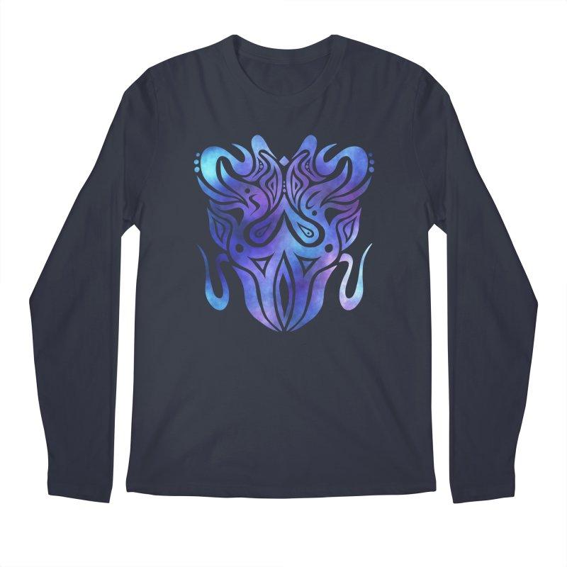 SYMMETRY Men's Regular Longsleeve T-Shirt by greenlambart's Artist Shop