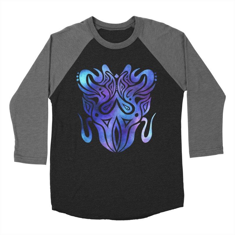 SYMMETRY Women's Baseball Triblend Longsleeve T-Shirt by greenlambart's Artist Shop