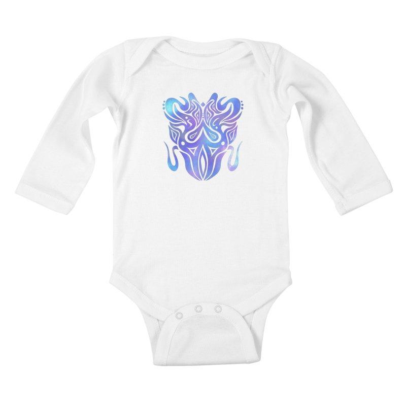 SYMMETRY Kids Baby Longsleeve Bodysuit by greenlambart's Artist Shop