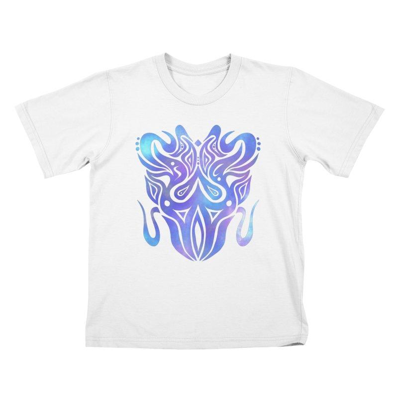SYMMETRY Kids T-Shirt by greenlambart's Artist Shop