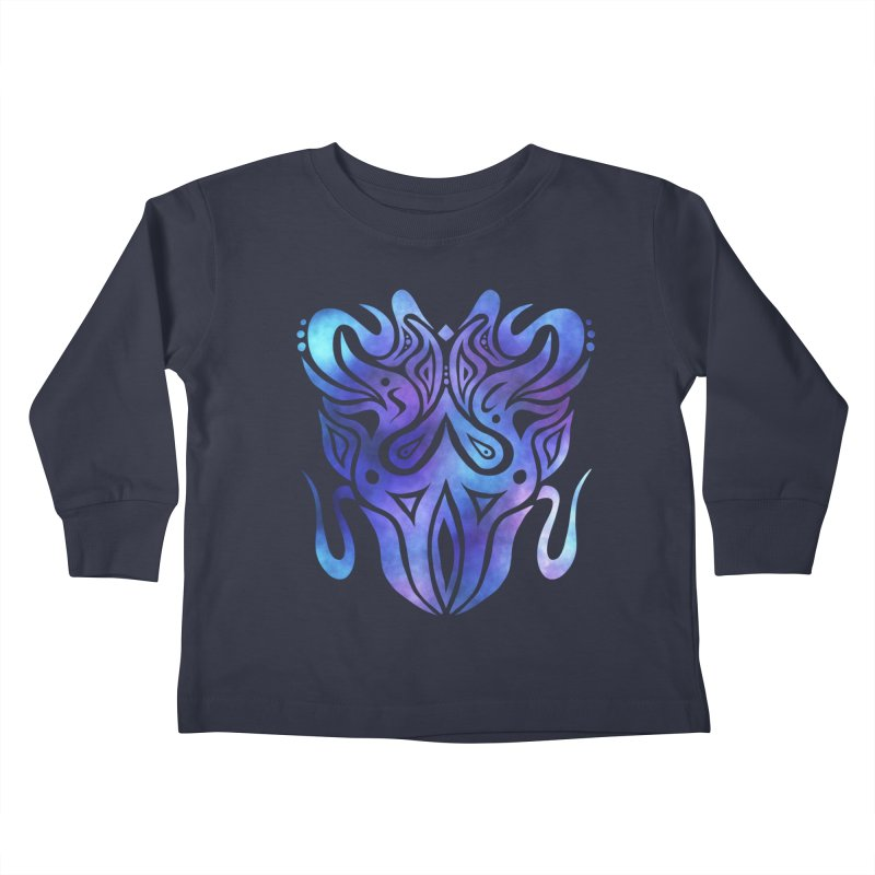 SYMMETRY Kids Toddler Longsleeve T-Shirt by greenlambart's Artist Shop