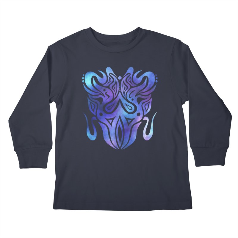 SYMMETRY Kids Longsleeve T-Shirt by greenlambart's Artist Shop