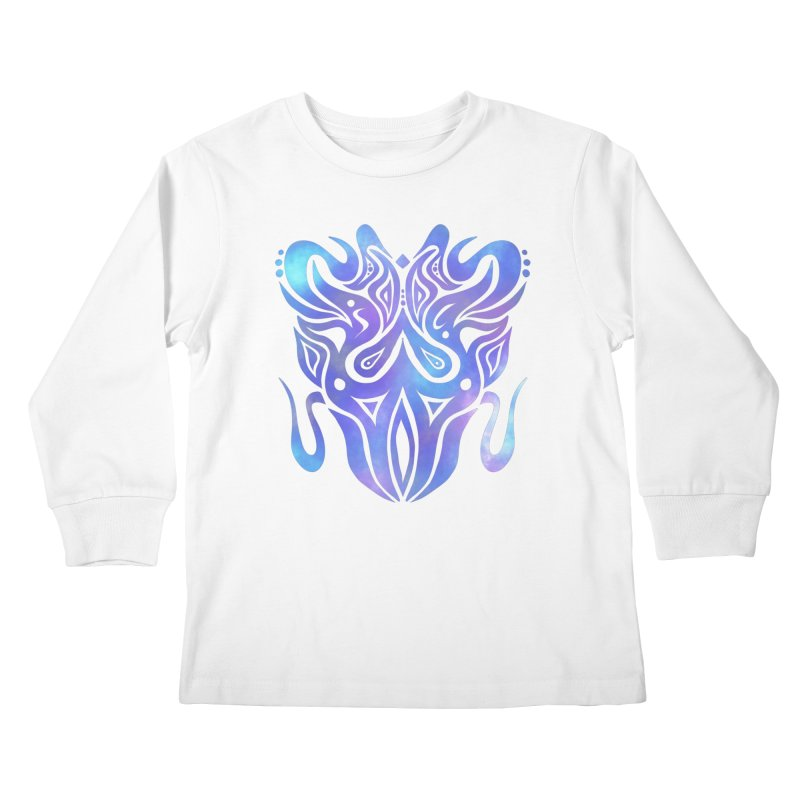 SYMMETRY Kids Longsleeve T-Shirt by greenlambart's Artist Shop