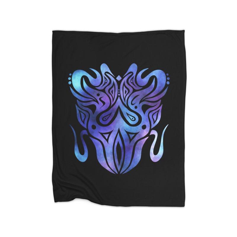 SYMMETRY Home Fleece Blanket Blanket by greenlambart's Artist Shop