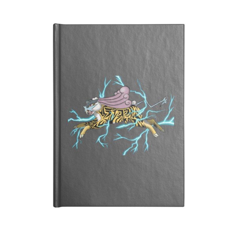 THUNDER Accessories Blank Journal Notebook by greenlambart's Artist Shop