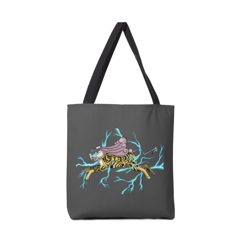 THUNDER Accessories Tote Bag Bag by greenlambart's Artist Shop