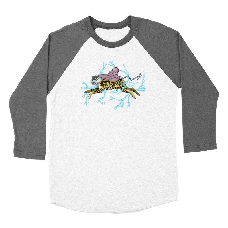 THUNDER Women's Longsleeve T-Shirt by greenlambart's Artist Shop
