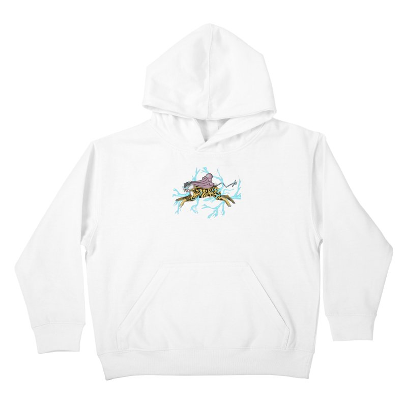 THUNDER Kids Pullover Hoody by greenlambart's Artist Shop