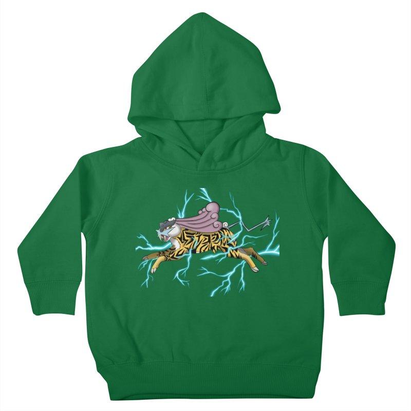 THUNDER Kids Toddler Pullover Hoody by greenlambart's Artist Shop
