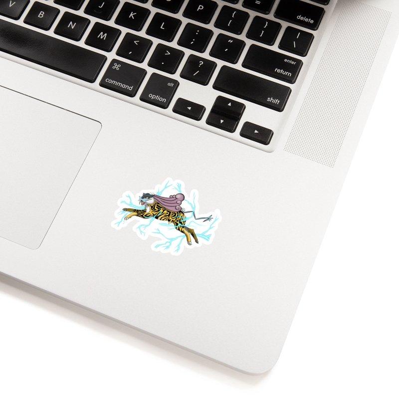 THUNDER Accessories Sticker by greenlambart's Artist Shop