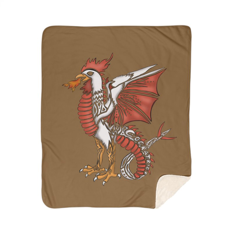 COCKATRICE Home Blanket by greenlambart's Artist Shop