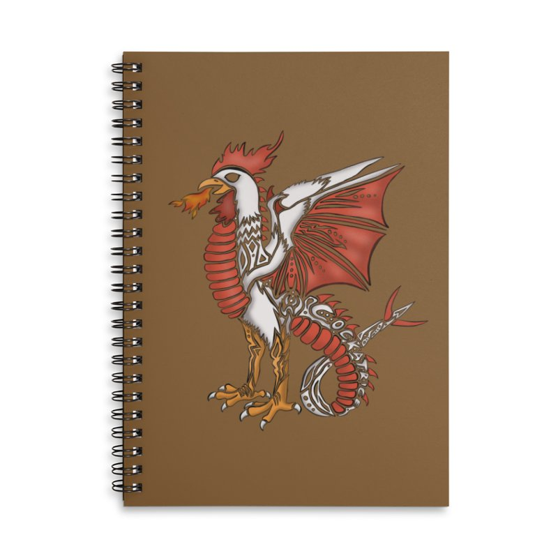 COCKATRICE Accessories Lined Spiral Notebook by greenlambart's Artist Shop