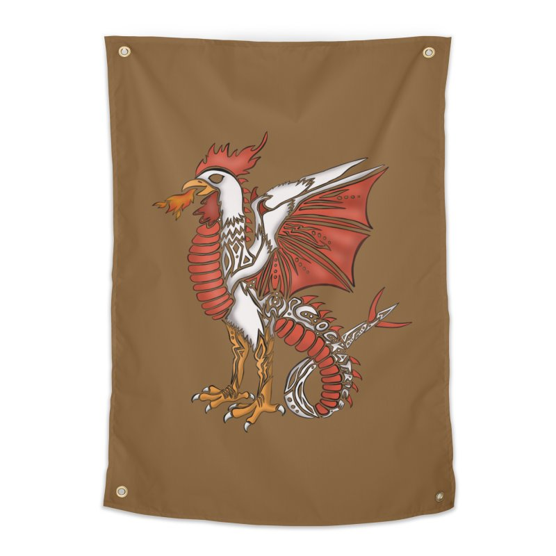 COCKATRICE Home Tapestry by greenlambart's Artist Shop