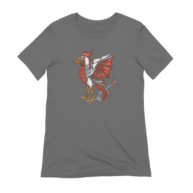 COCKATRICE Women's Extra Soft T-Shirt by greenlambart's Artist Shop