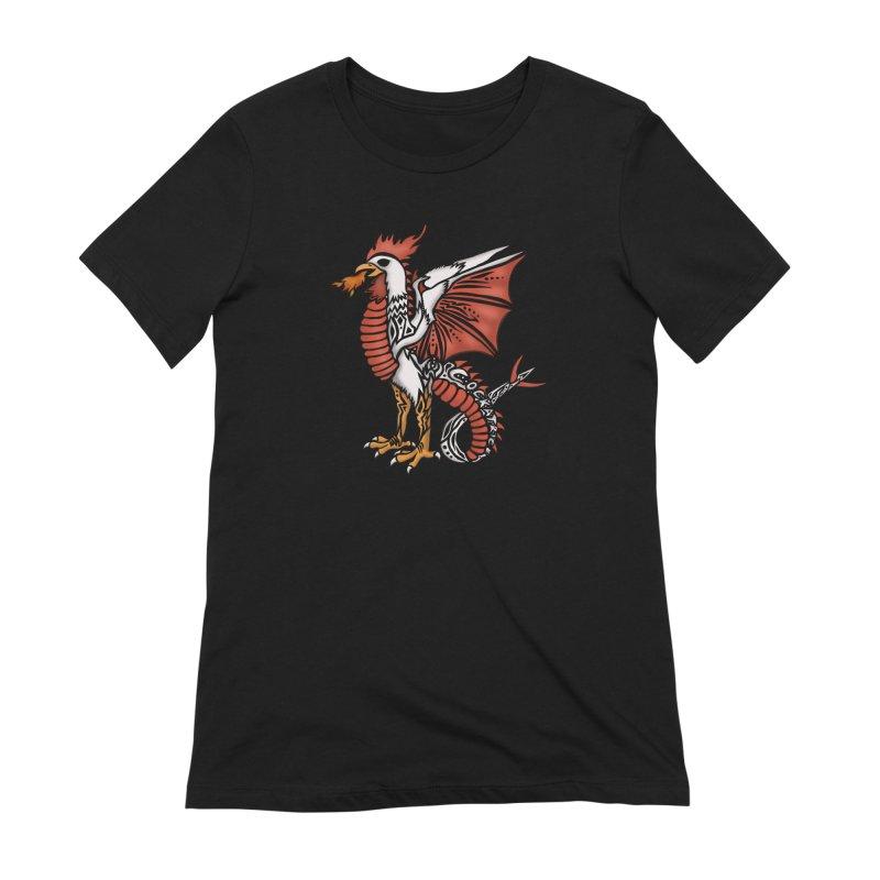 COCKATRICE Women's Extra Soft T-Shirt by greenlambart's Artist Shop