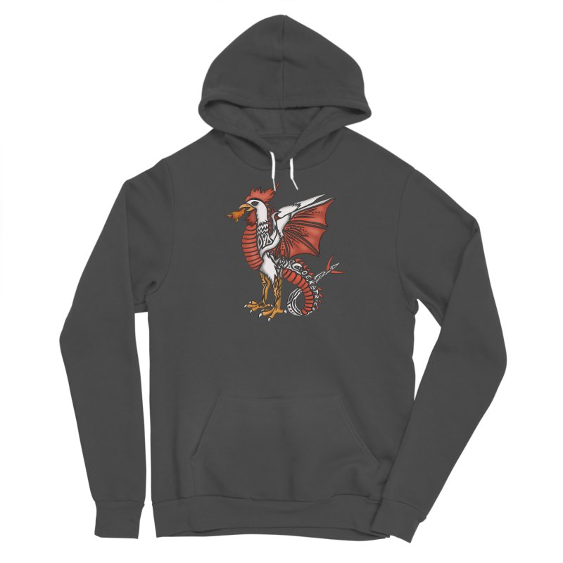 COCKATRICE Men's Pullover Hoody by greenlambart's Artist Shop