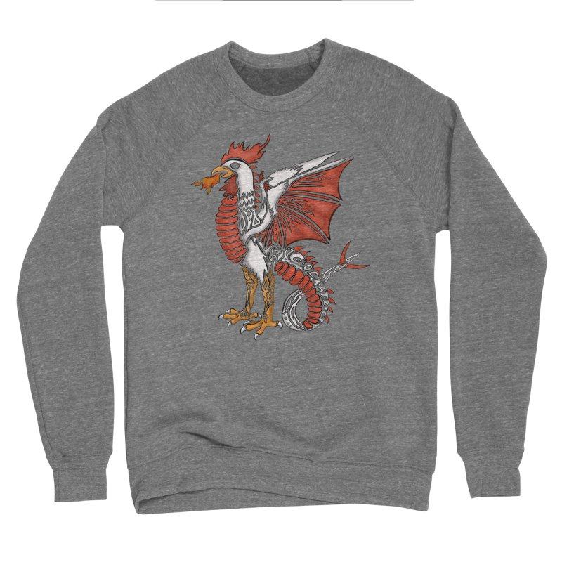 COCKATRICE Men's Sponge Fleece Sweatshirt by greenlambart's Artist Shop