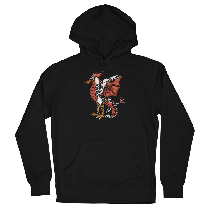 COCKATRICE Women's French Terry Pullover Hoody by greenlambart's Artist Shop