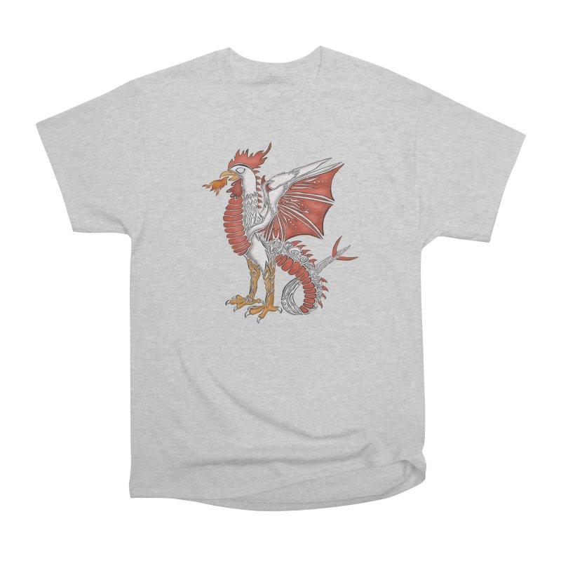 COCKATRICE Men's Heavyweight T-Shirt by greenlambart's Artist Shop