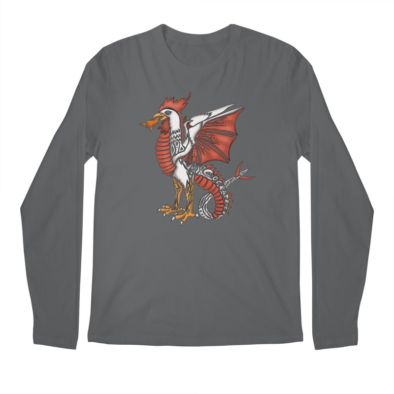 COCKATRICE Men's Regular Longsleeve T-Shirt by greenlambart's Artist Shop