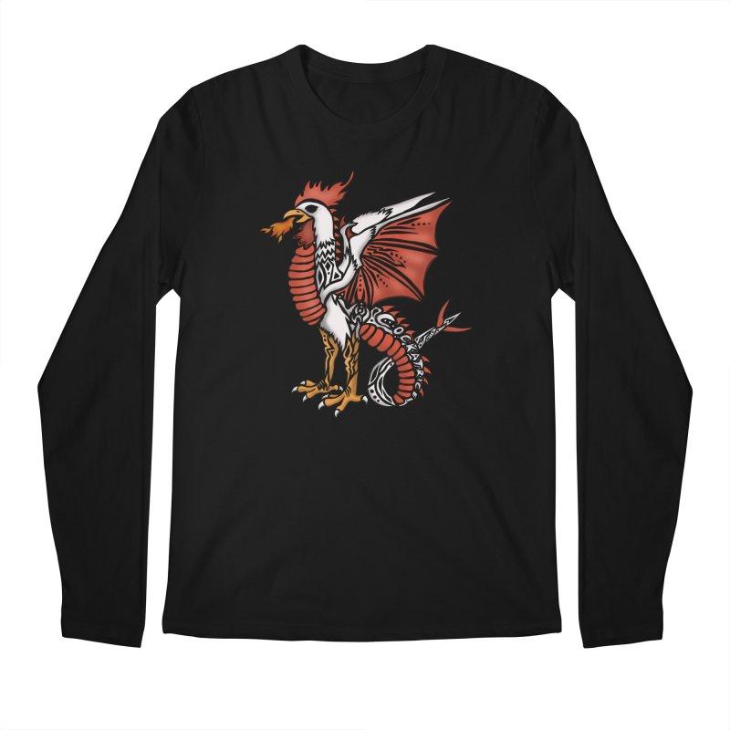 COCKATRICE Men's Regular Longsleeve T-Shirt by greenlambart's Artist Shop