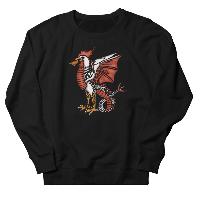 COCKATRICE Women's French Terry Sweatshirt by greenlambart's Artist Shop