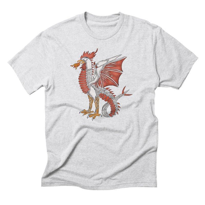 COCKATRICE Men's Triblend T-Shirt by greenlambart's Artist Shop