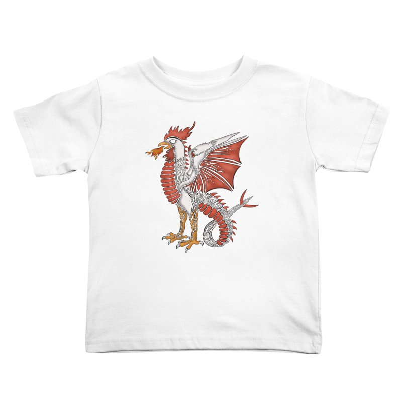 COCKATRICE Kids Toddler T-Shirt by greenlambart's Artist Shop