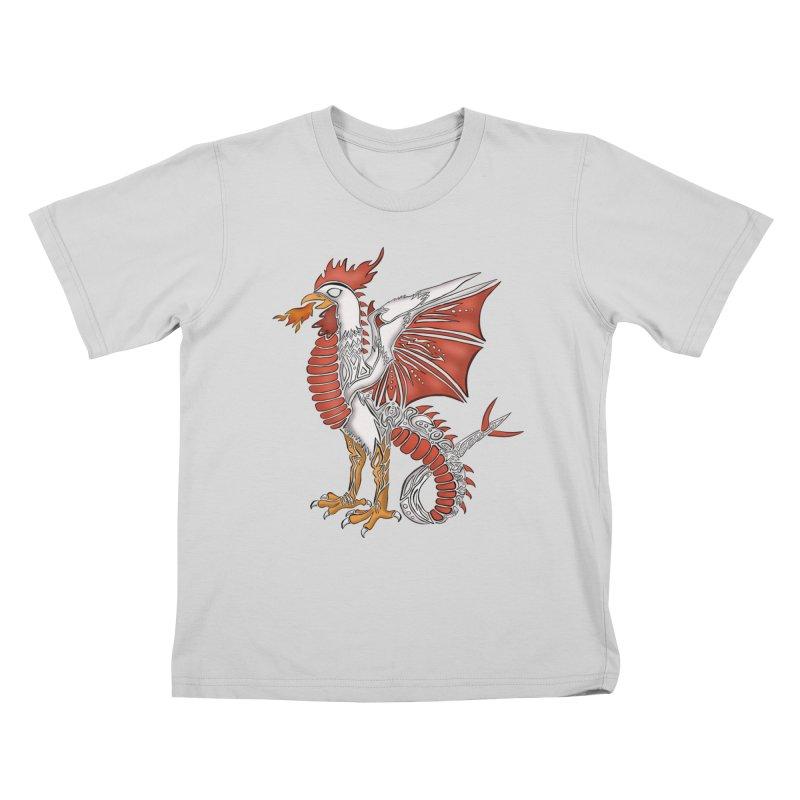 COCKATRICE Kids T-Shirt by greenlambart's Artist Shop