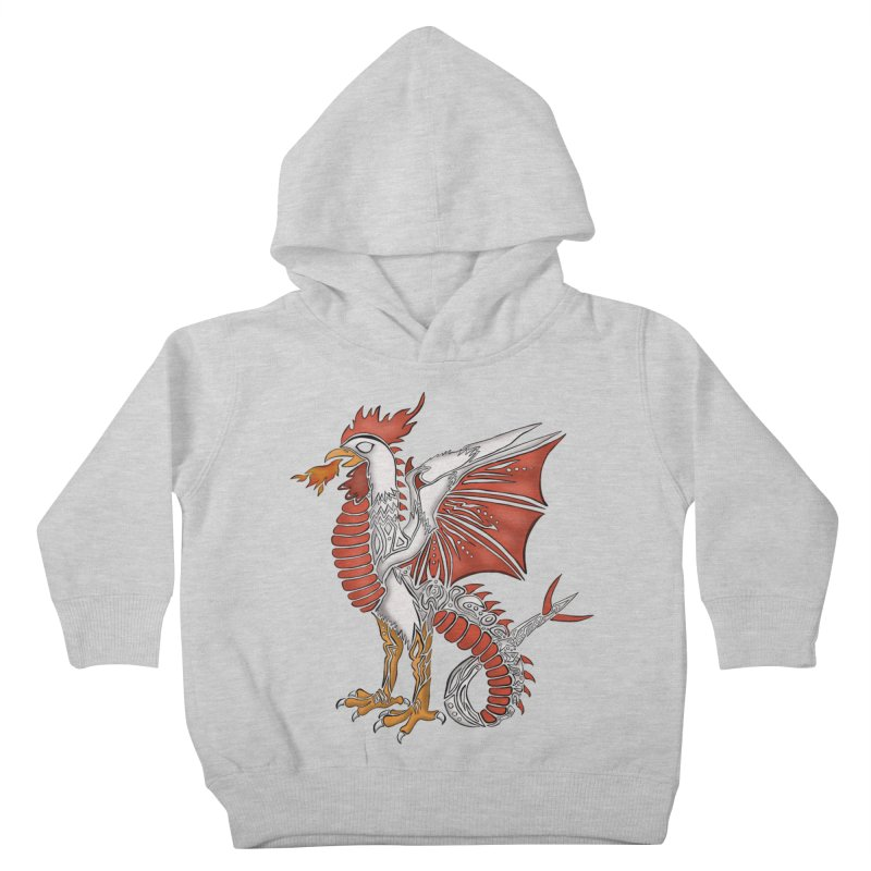 COCKATRICE Kids Toddler Pullover Hoody by greenlambart's Artist Shop