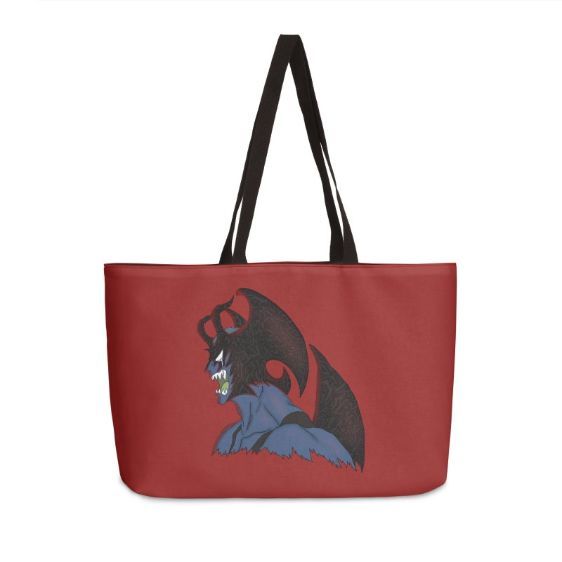 CRYBABY Accessories Weekender Bag Bag by greenlambart's Artist Shop