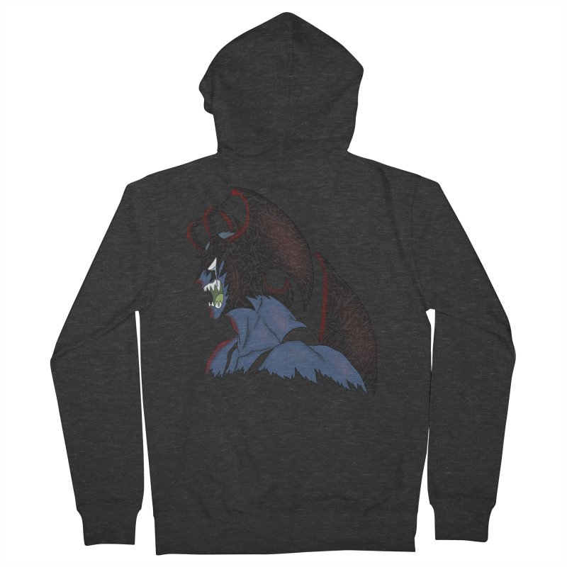 CRYBABY Men's French Terry Zip-Up Hoody by greenlambart's Artist Shop