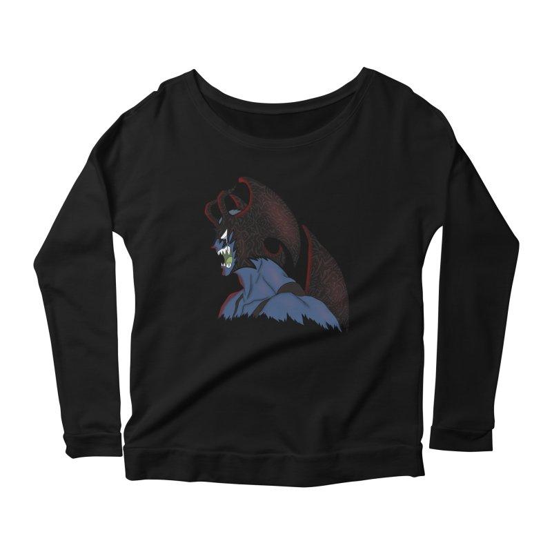CRYBABY Women's Scoop Neck Longsleeve T-Shirt by greenlambart's Artist Shop
