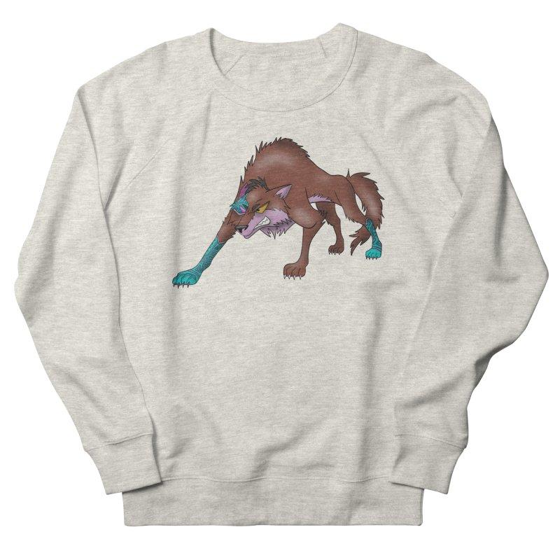 CYBER WOLF Women's Sweatshirt by greenlambart's Artist Shop