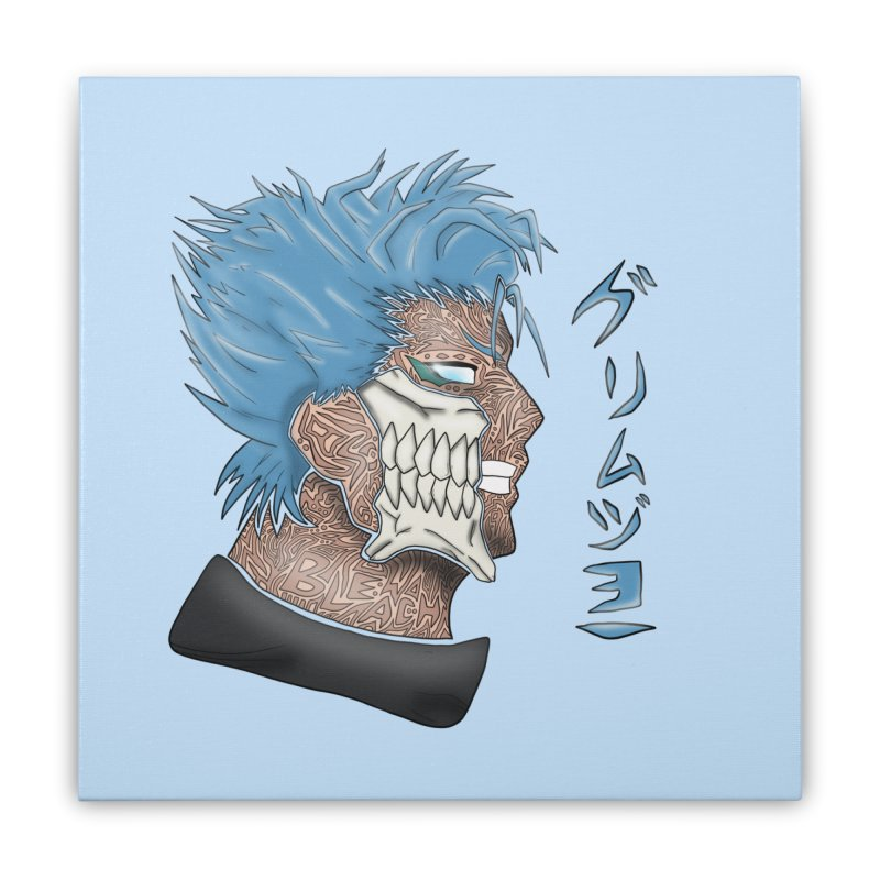 GRIMMJOW Home Stretched Canvas by greenlambart's Artist Shop