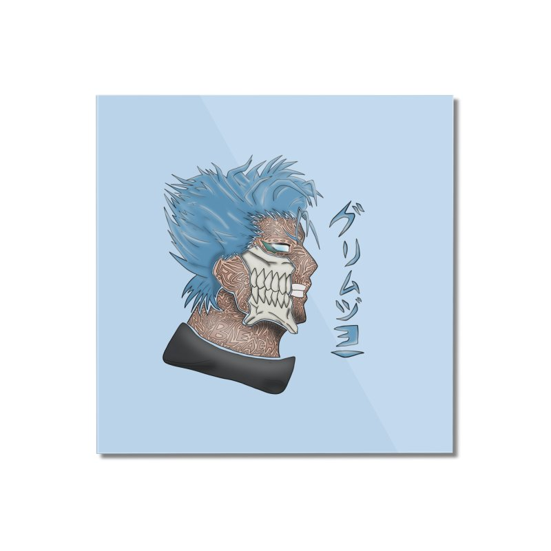 GRIMMJOW Home Mounted Acrylic Print by greenlambart's Artist Shop