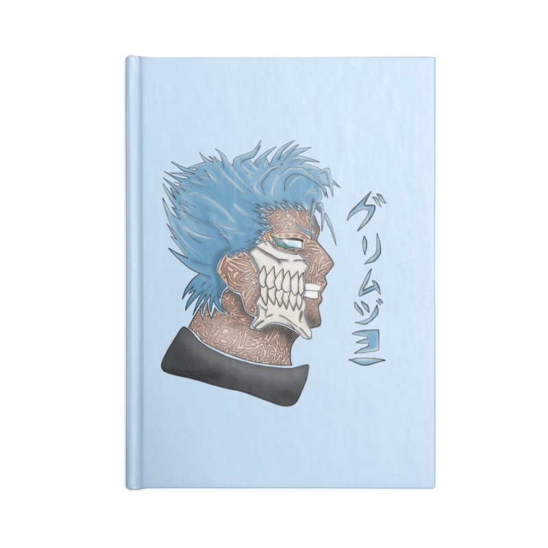 GRIMMJOW Accessories Blank Journal Notebook by greenlambart's Artist Shop