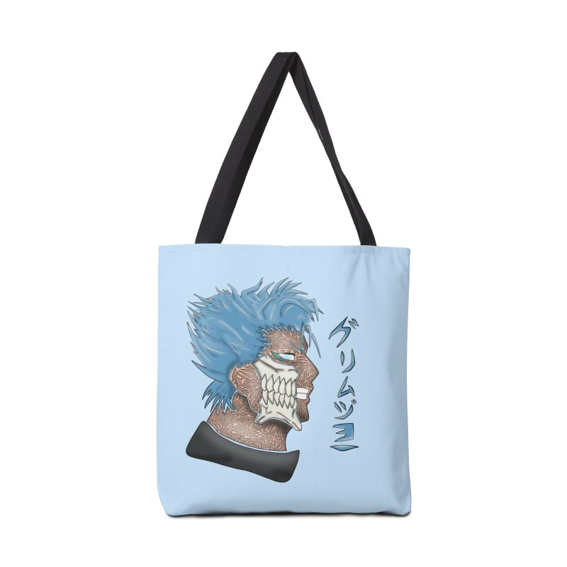 GRIMMJOW Accessories Bag by greenlambart's Artist Shop