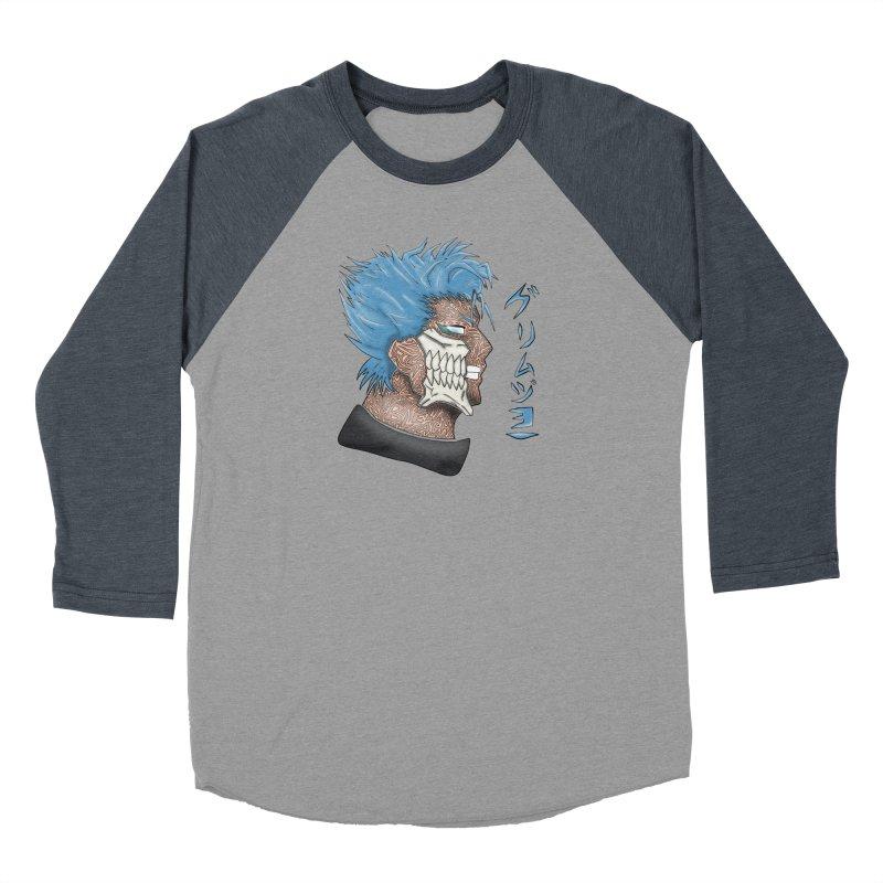 GRIMMJOW Women's Baseball Triblend Longsleeve T-Shirt by greenlambart's Artist Shop
