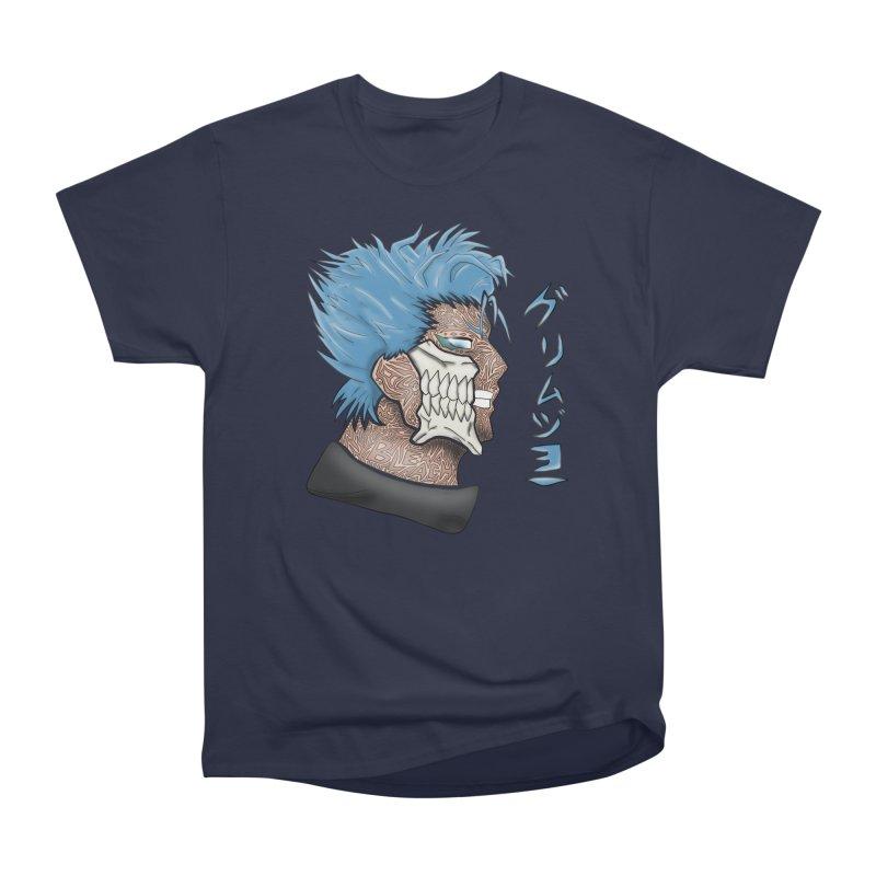 GRIMMJOW Women's Heavyweight Unisex T-Shirt by greenlambart's Artist Shop