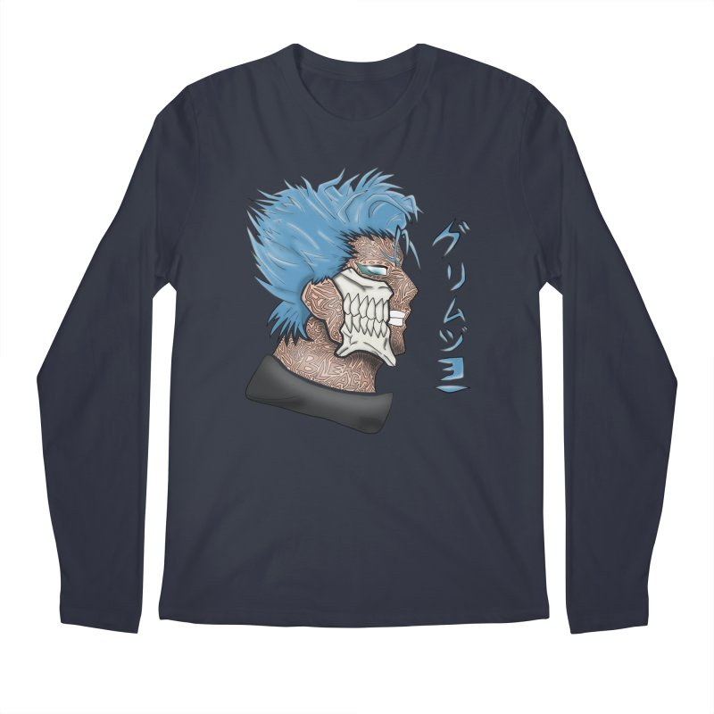 GRIMMJOW Men's Regular Longsleeve T-Shirt by greenlambart's Artist Shop