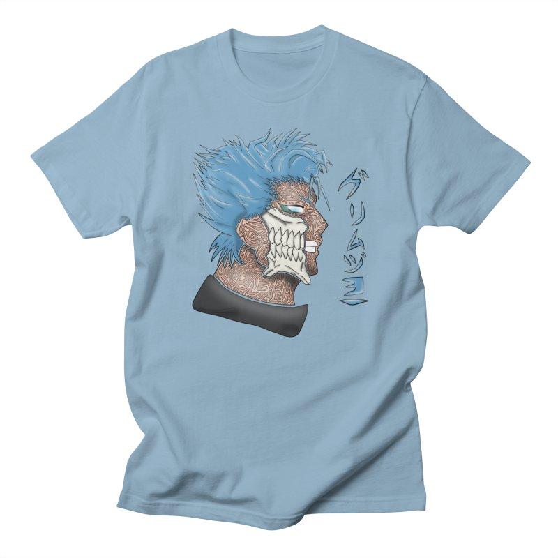 GRIMMJOW Men's Regular T-Shirt by greenlambart's Artist Shop