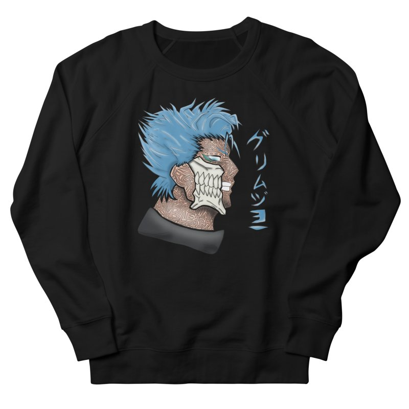 GRIMMJOW Women's French Terry Sweatshirt by greenlambart's Artist Shop