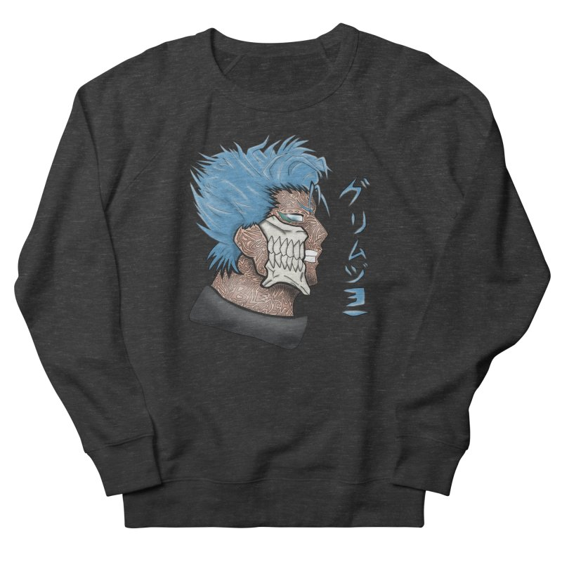 GRIMMJOW Men's French Terry Sweatshirt by greenlambart's Artist Shop