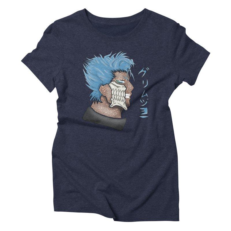 GRIMMJOW Women's Triblend T-Shirt by greenlambart's Artist Shop