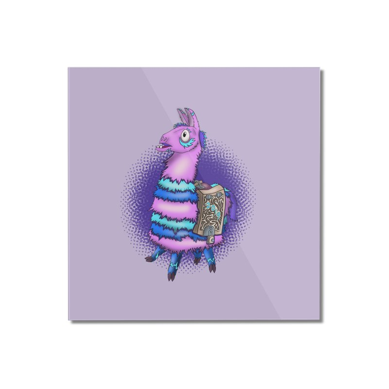 LOOT Home Mounted Acrylic Print by greenlambart's Artist Shop